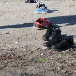 Skagen - Grenen, abandoned shoes